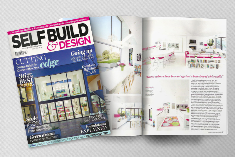 Witcher Crawford Self Build and Design Magazine Feature