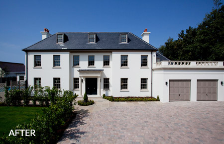 Completed exterior refurbishment