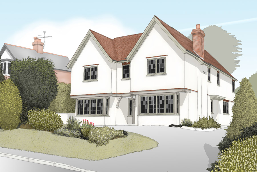 Hampshire Home Architects Drawings