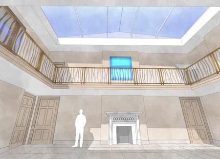 Witcher Crawford Internal Refurbishment Design Drawings