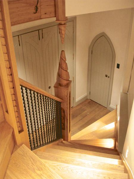 Refurbishment Staircase Design Detail