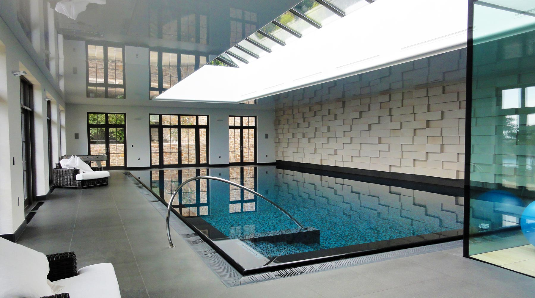 Jersey House Interior Swimming Pool