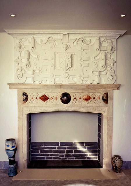 Fireplace Design Details Witcher Crawford